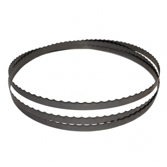 """114"""" SCALLOPED BAND SAW BLADE FOR BONELESS MEAT CUTTING"""