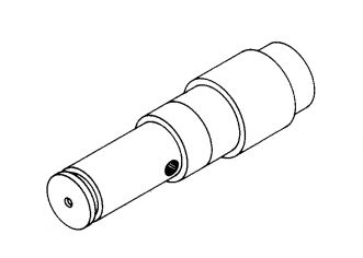 UPPER WHEEL SHAFT