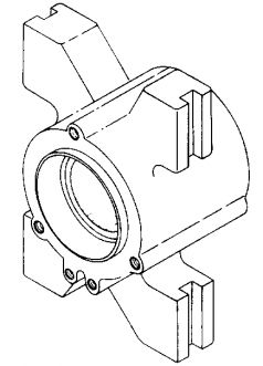 UPPER BEARING HOUSING
