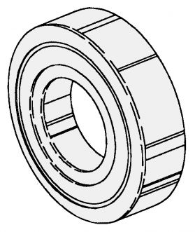 LOWER SHAFT BEARING