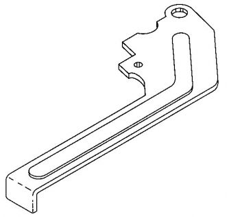 LOCKING LEVER - FOR SHARPENING ASSEMBLY