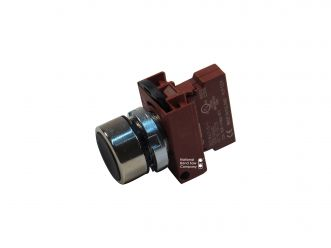 SWITCH ASSY, NORMALY OPEN, FLUSH BUTTON - BLACK, M32