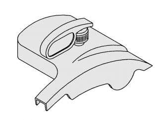 COVER SUB-ASSY for 909, 919 - POLYCARBONATE (for US174A)