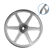LOWER SAW WHEEL, DOUBLE FLANGED FOR BIRO 1433 & 1433FH