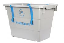 PLATESCRAPE DISHWASHING CLEANING BUCKET