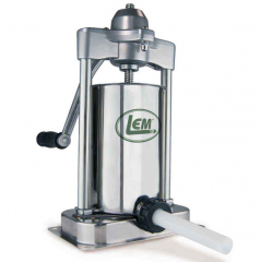 LEM MIGHTY BITE 5 LB VERTICAL STUFFER WITH GEAR BOX
