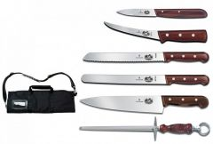 VICTORINOX 46047, 7 PIECE CULINARY ROLL SET
