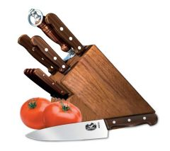 VICTORINOX 46153 11 PIECE HARDWOOD BLOCK SET