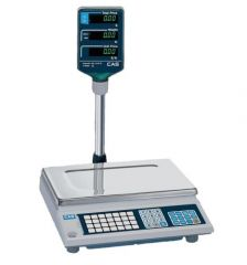 CAS AP1-30 DIGITAL PRICE COMPUTING SCALE 30LB .01LB RESOLUTION