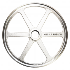 """BIRO MEAT SAW 16"""" UPPER SAW WHEEL / PULLY WHEEL ONLY FIXED HEAD FOR MODELS 3334, 3334FH, REPLACES 16003U"""