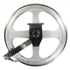 UPPER WHEEL ASSY W/HINGE PLATE