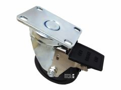 """CASTER - SWIVEL WHEEL 3 1/2"""" with LOCK (FRONT) AFMG-24"""