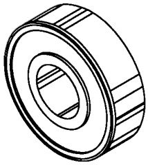 SAW GUIDE BEARING fits MODELS 34 and 44