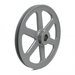 """V-PULLEY FOR BUTCHER BOY B16 SAW, 10 3/4"""" DIA WITH 1 1/8"""" BORE"""