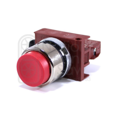 SG8D, SWITCH ASSY, NORMALY CLOSED, EXTENDED BUTTON - RED