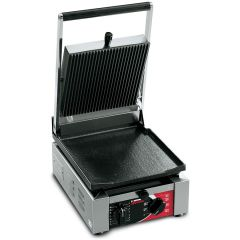 SIRMAN ELIO L SINGLE PANINI GRILL WITH GROOVE TOP AND FLAT BOTTOM