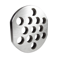 GRINDER PLATE #22 - 1/2 HOLE  W/ 2 FLAT EDGES