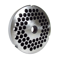 """Grinder plate for #52 grinders with 3/8"""" hole, reversible"""