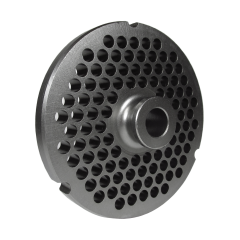 "GRINDER PLATE #32 - 1/4"" HOLE - HUB STYLE (NON-REVERSIBLE)"