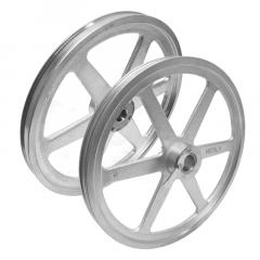 Saw wheel set, Upper and Lower wheel/pulley to fit Hobart Saw 6801, replaces A290863, 104999