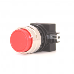 SWITCH OPERATOR, NORMALLY CLOSED, EXTENDED BUTTON -RED