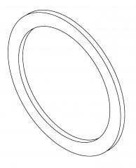 BEARING WASHER WITH ADHESIVE