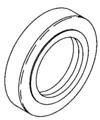 SEAL - RETAINER FOR FRONT/REAR DRIVE SHAFTS