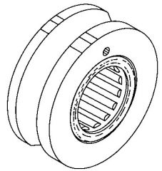 BEARING AND SEAT ASSY FOR FRONT/REAR DRIVE SHAFTS