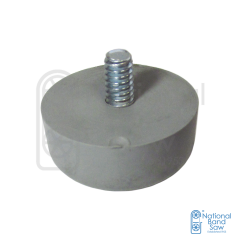 FOOT, GREY RUBBER NON SKID/MARKING
