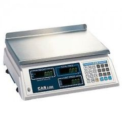 CAS S2000 PRICE COMPUTING SCALE 30LB